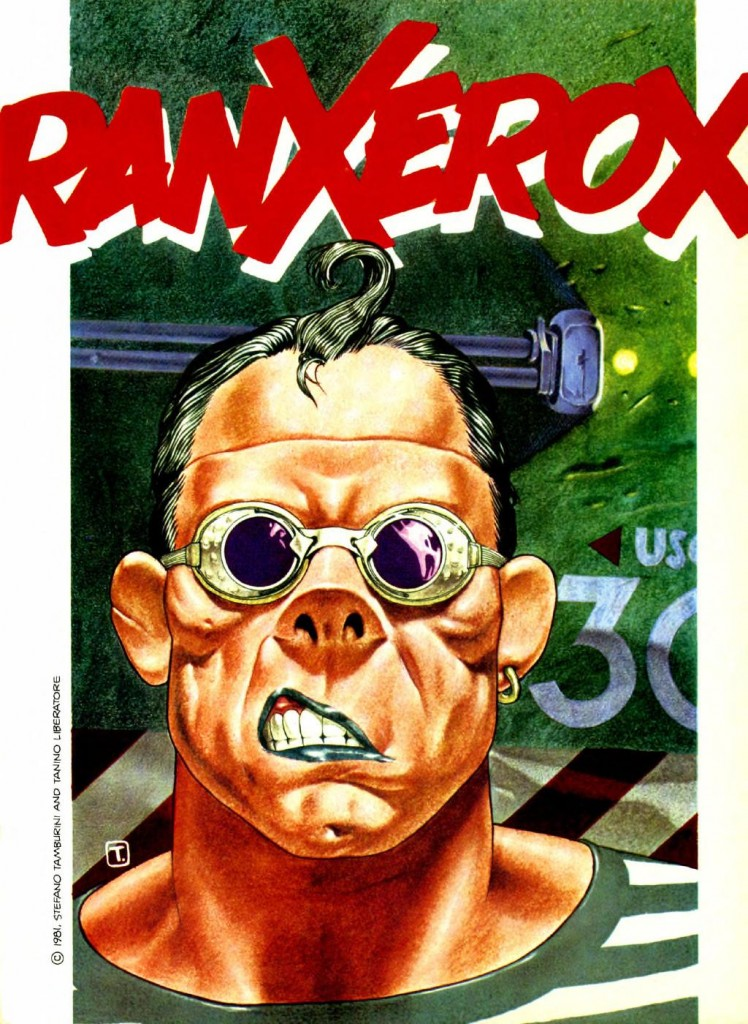 Tanino Liberatore - RanXerox - Heavy Metal, Vol. 7 No. 4 (July, 1983) (pg. 15 - splash)