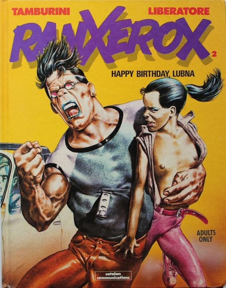 Tanino Liberatore - Ranx 2: Happy Birthday, Lubna (cover)