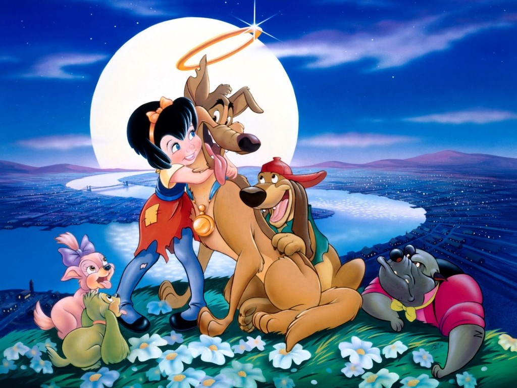 Don Bluth, et al - All Dogs Go to Heaven (poster)