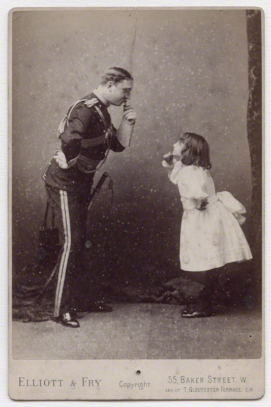 Elliott & Fry - C.W. Garthorne and Minnie Terry (undated)