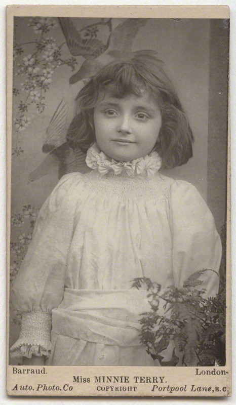 Herbert Rose Barraud - Minnie Terry (1889)