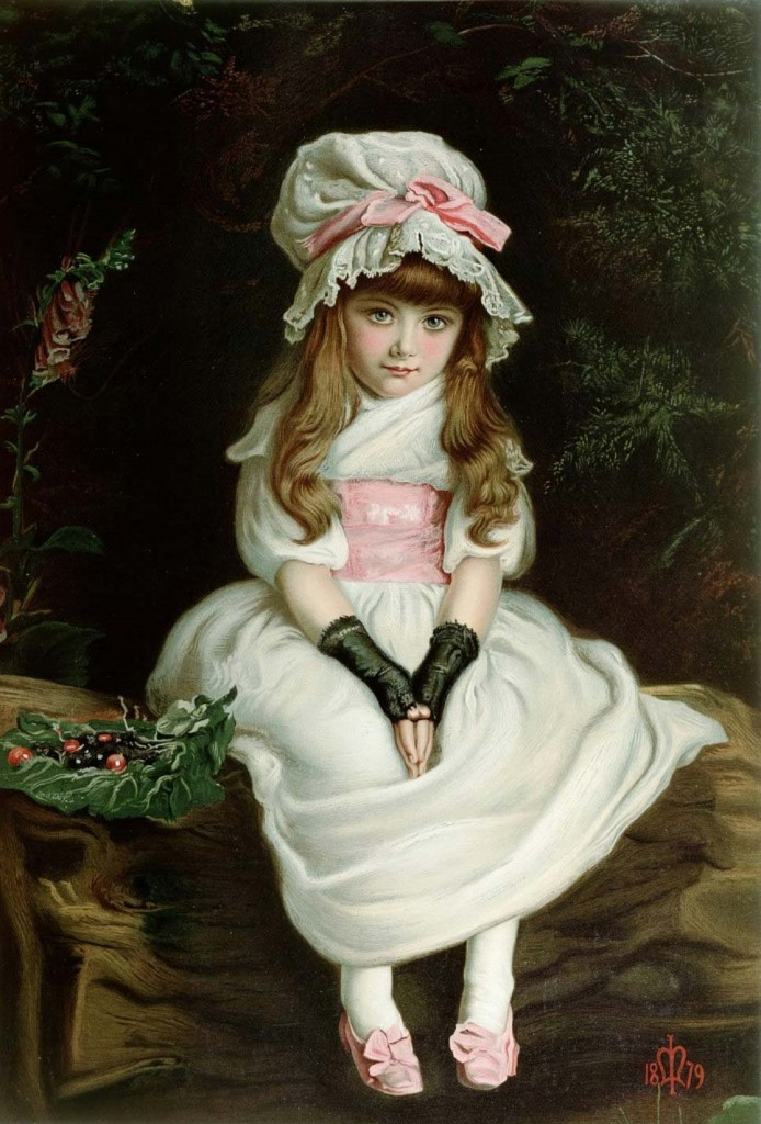 John Everett Millais – Cherry Ripe (1879)
