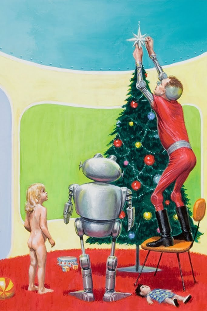 Ed Emshwiller - A Little Girl's Xmas in Modernia