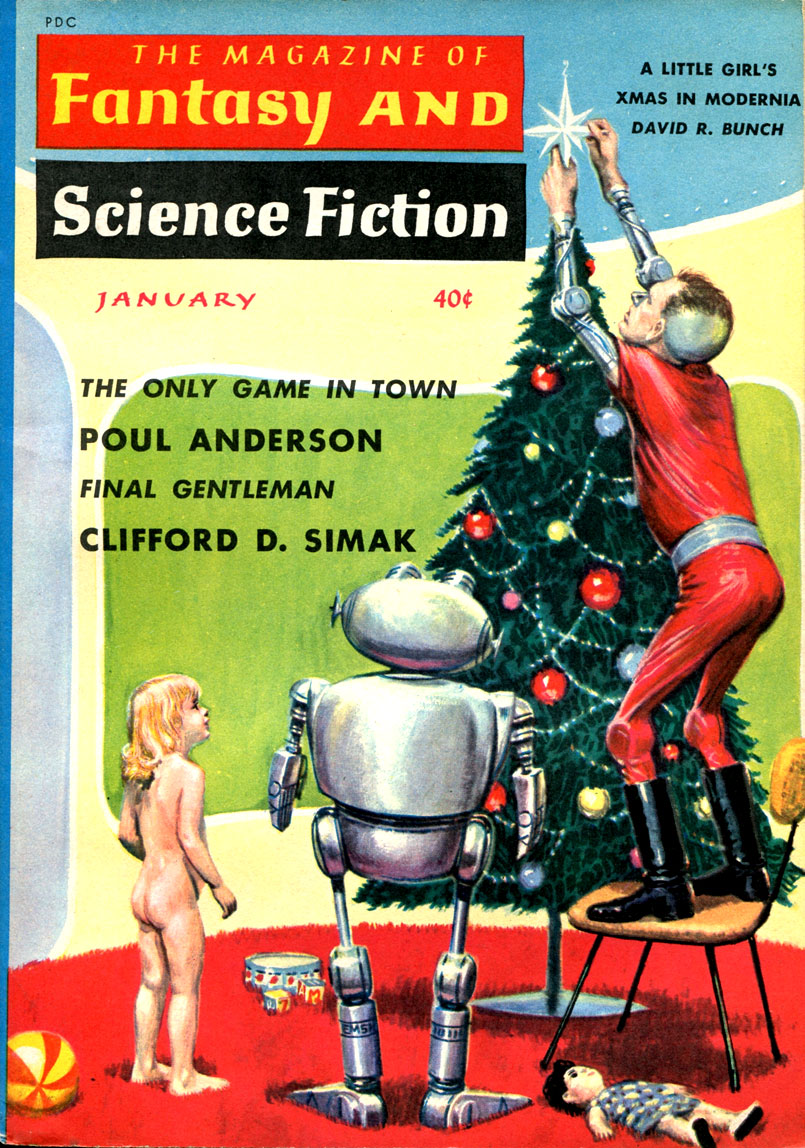 Ed Emshwiller - The Mag of Fantasy & Sci-Fi (cover)