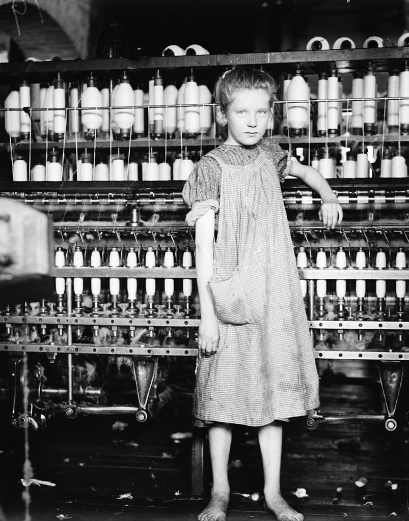 Lewis Hine - Addie Card (Aug. 1910)