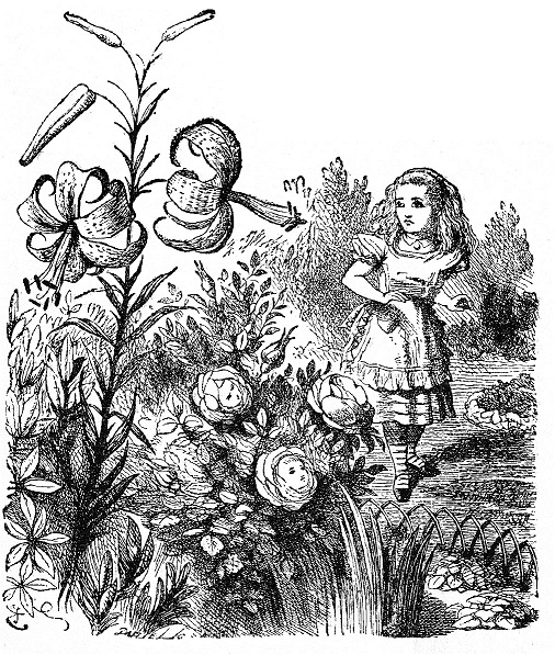 Sir John Tenniel - Through the Looking-Glass and What Alice Found There (1871)