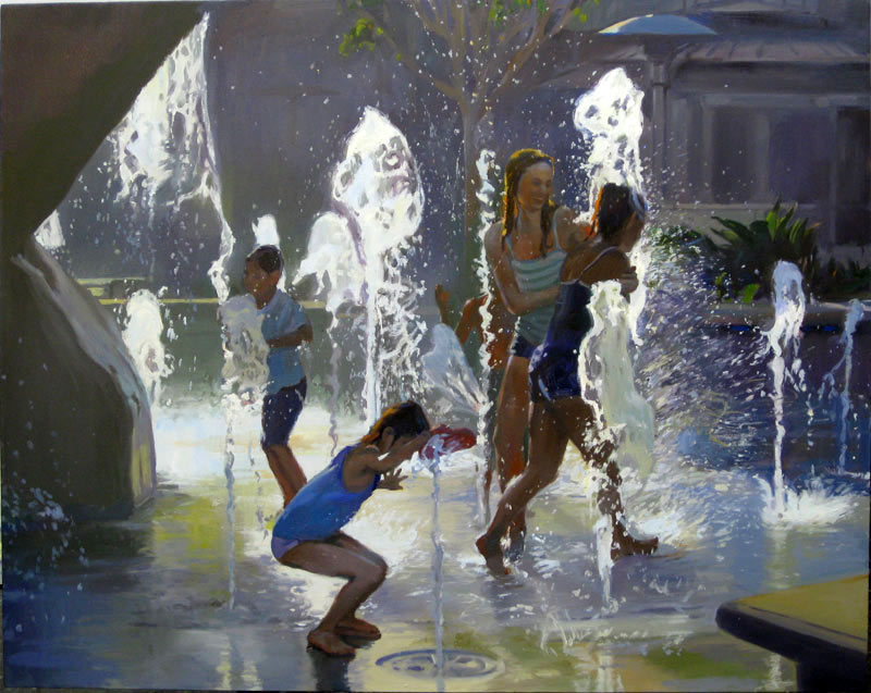 Stanley Goldstein - Fountain I (2008)