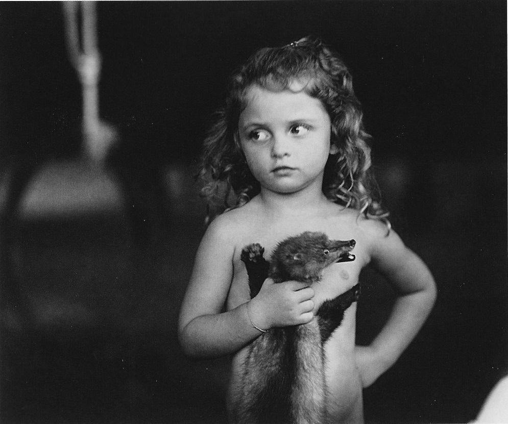 Sally Mann - Holding the Weasel (1989)