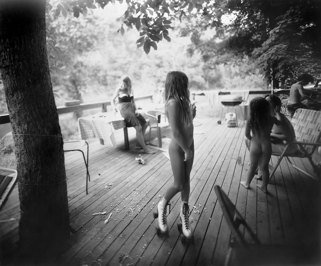 Sally Mann - White Skates (1990)