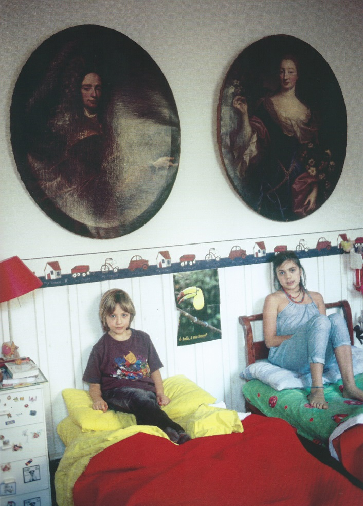 Nan Goldin - Eugenio and Isabella in their room, Torino, 2011