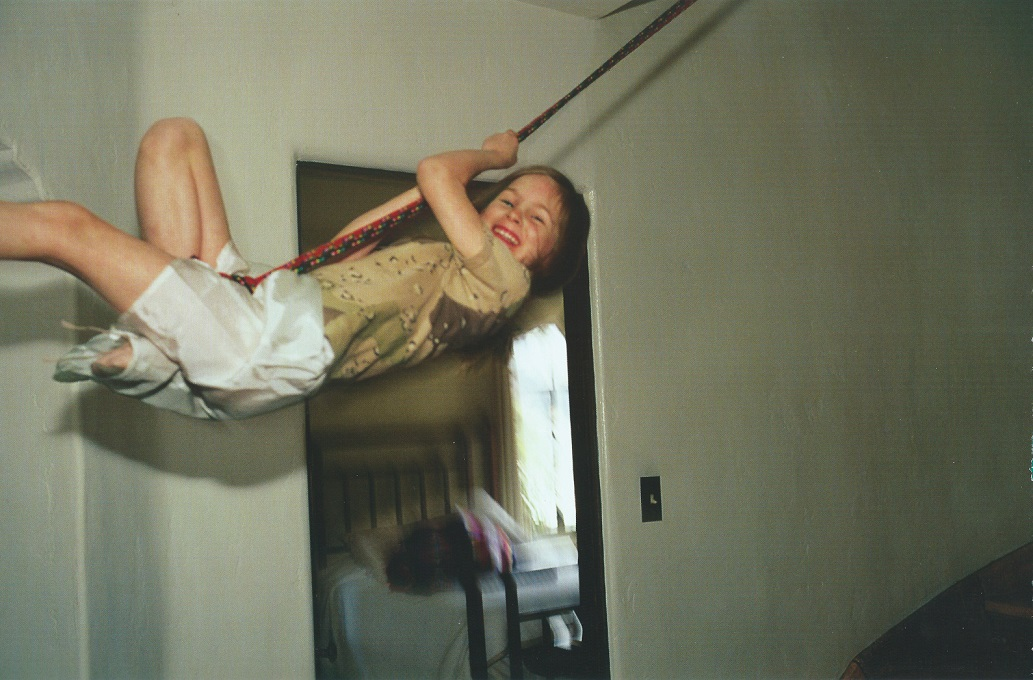 Nan Goldin - Laura Love swinging, LA, 1998