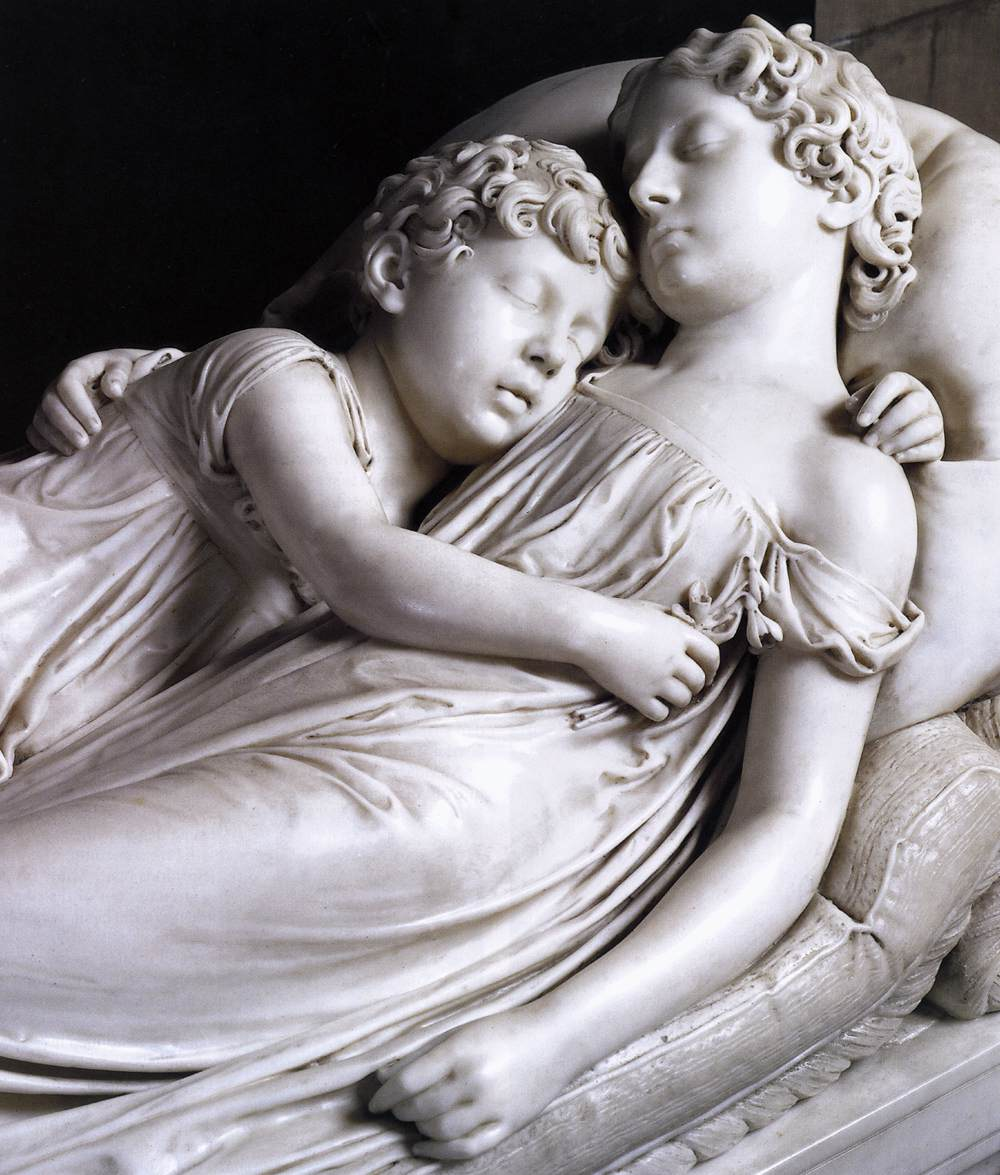 Francis Chantrey - The Sleeping Children (1817) - from cpapsociety.com