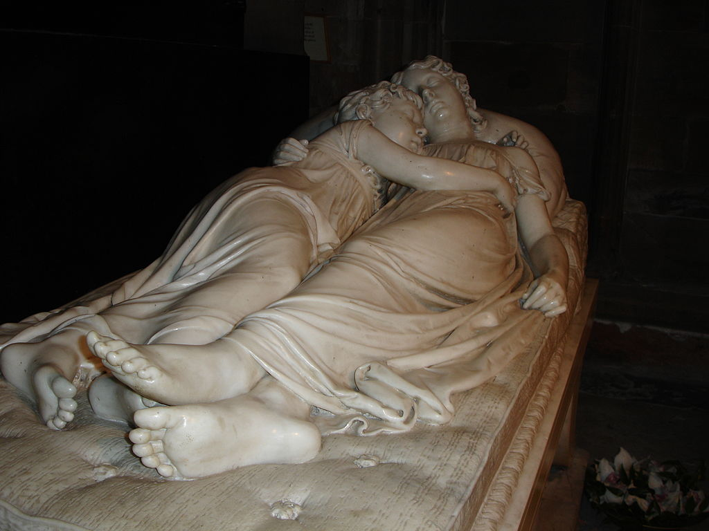Francis Chantrey - The Sleeping Children (1817) - photographed for Wikipedia by Villafanuk (15 February 2006)
