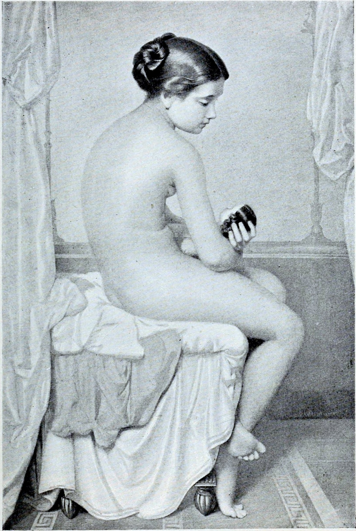 Amaury Duval - Étude d'enfant (Date Unknown)