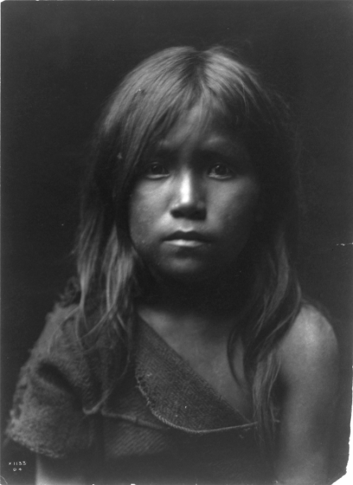 Edward Curtis - Hopi Angel (c1905)