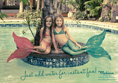 "Mahina - Merfin ""Just Add Water"" Campaign (2012)"