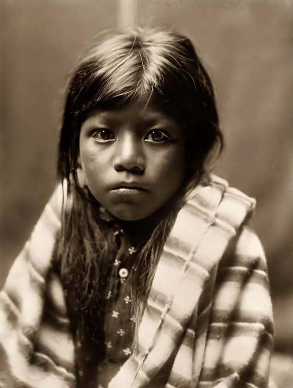(Photographer Unknown) - Comanche Girl (c1870)