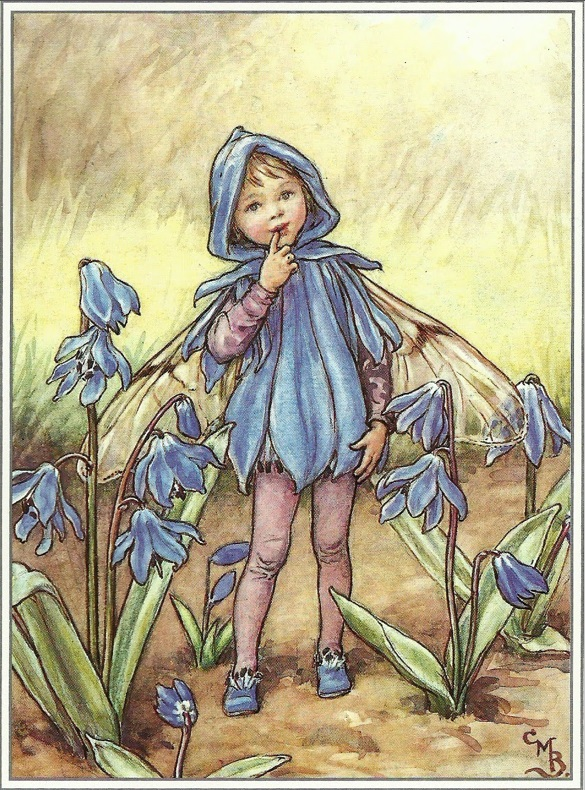 Cicely Mary Barker - Bluebell Fairy (1923)