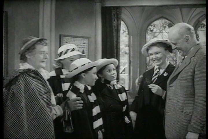 Frank Launder, Sidney Gilliat and Val Valentine - The Belles of St. Trinian's (1954) (3)