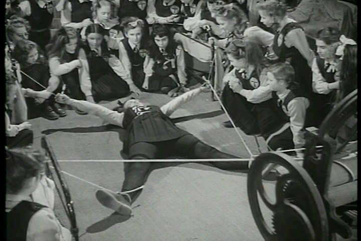 Frank Launder, Sidney Gilliat and Val Valentine - The Belles of St. Trinian's (1954) (5)