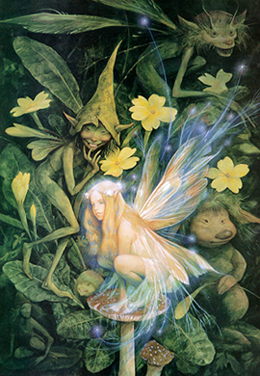 Brian Froud - Illustration from Good Faeries / Bad Faeries (1998)
