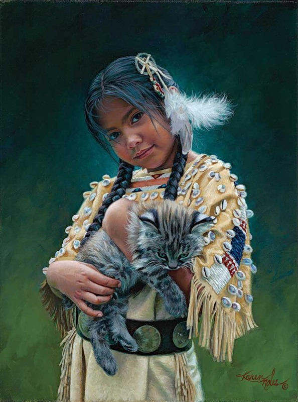 Karen Noles - Feathers and Fur