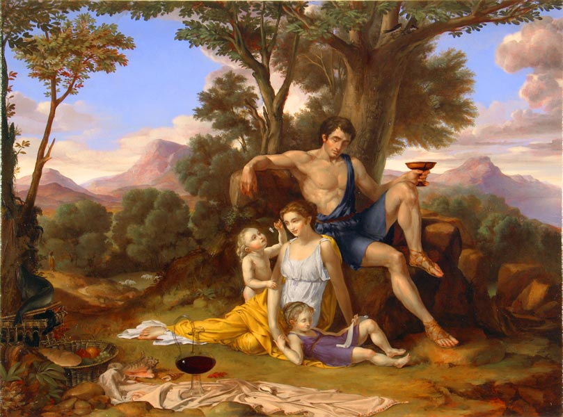 Leonard Porter - An Allegory of Familial Love (2005)