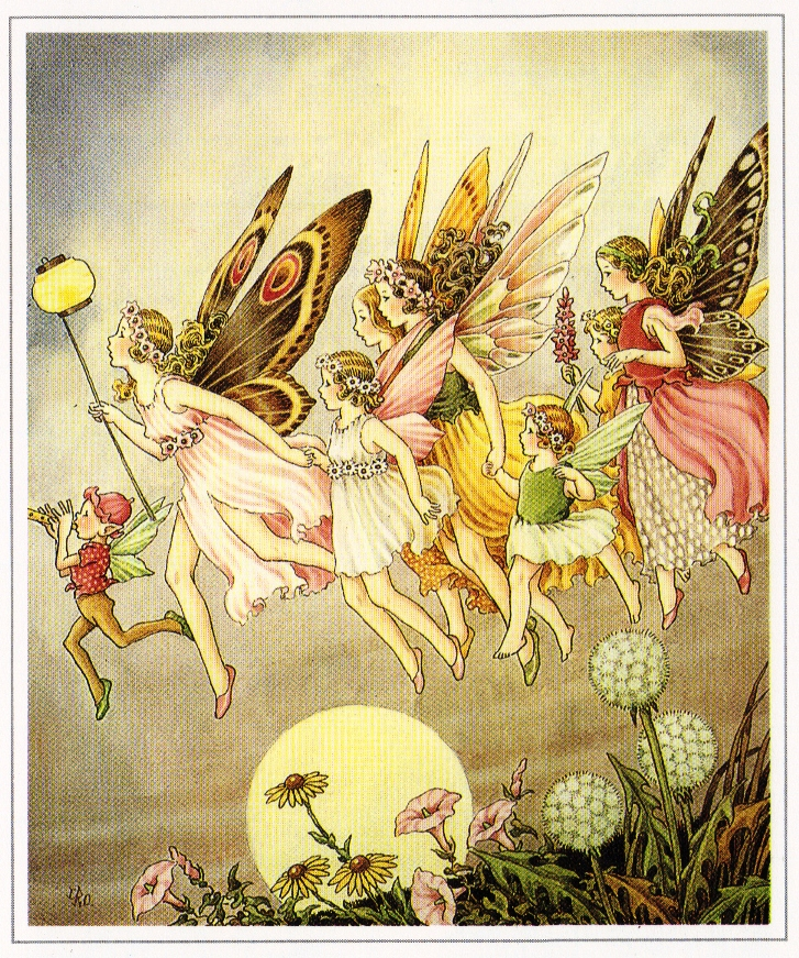 Ida Outhwaite - When the Fairies Came (c1920)