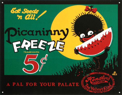 Picaninny Freeze Ice Cream Tin (1920s)
