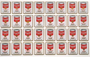 Andy Warhol Campbell's Soup Cans 1962