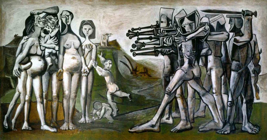 Picasso Massacre in Korea 1951