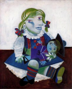 Pablo Picasso Maia-with her Doll 1938
