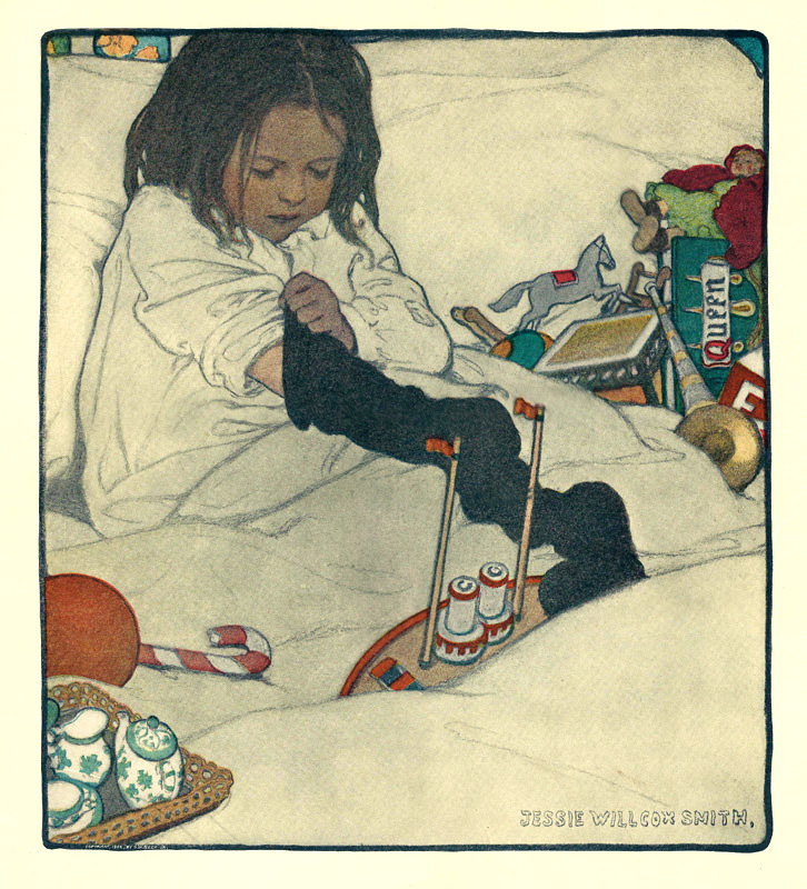 Jessie Willcox Smith - A Real Santa Claus (1903)