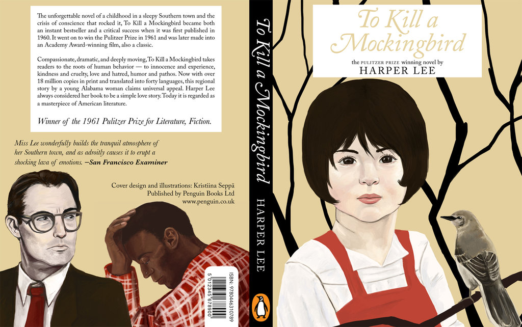 Kristiina Seppä - To Kill a Mockingbird (cover design)
