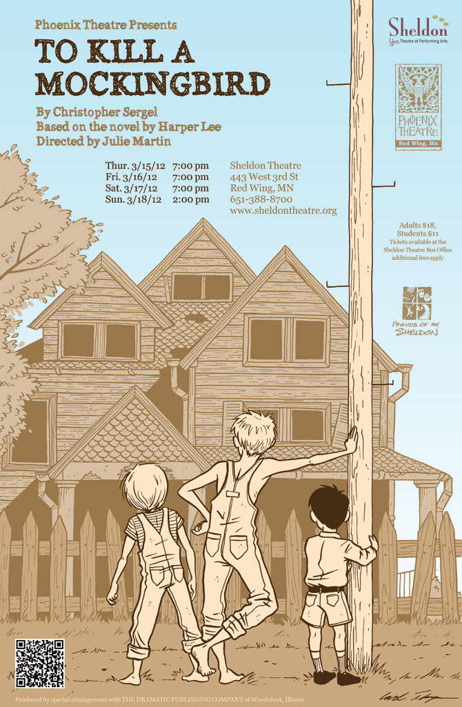 Artist Unknown - Phoenix Theater Presents 'To Kill a Mockingbird' (poster)