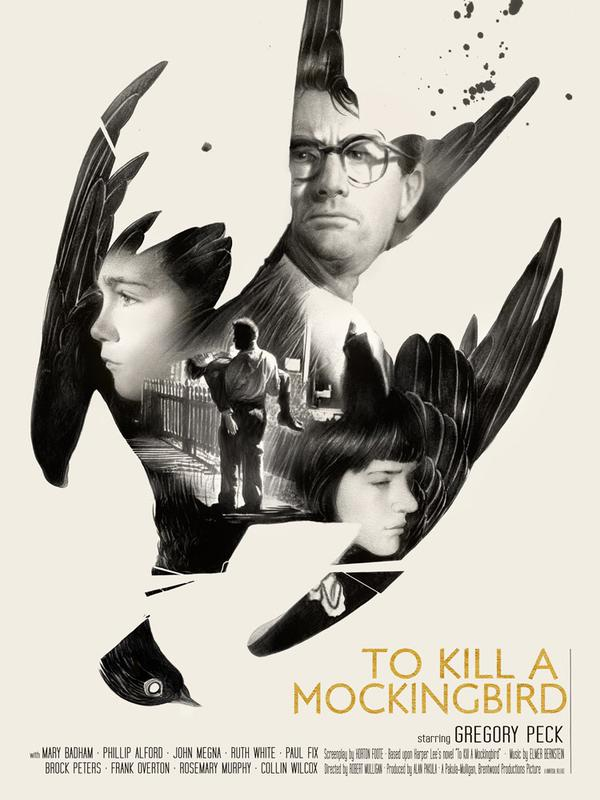 Artist Unknown - To Kill a Mockingbird (film poster) (3)