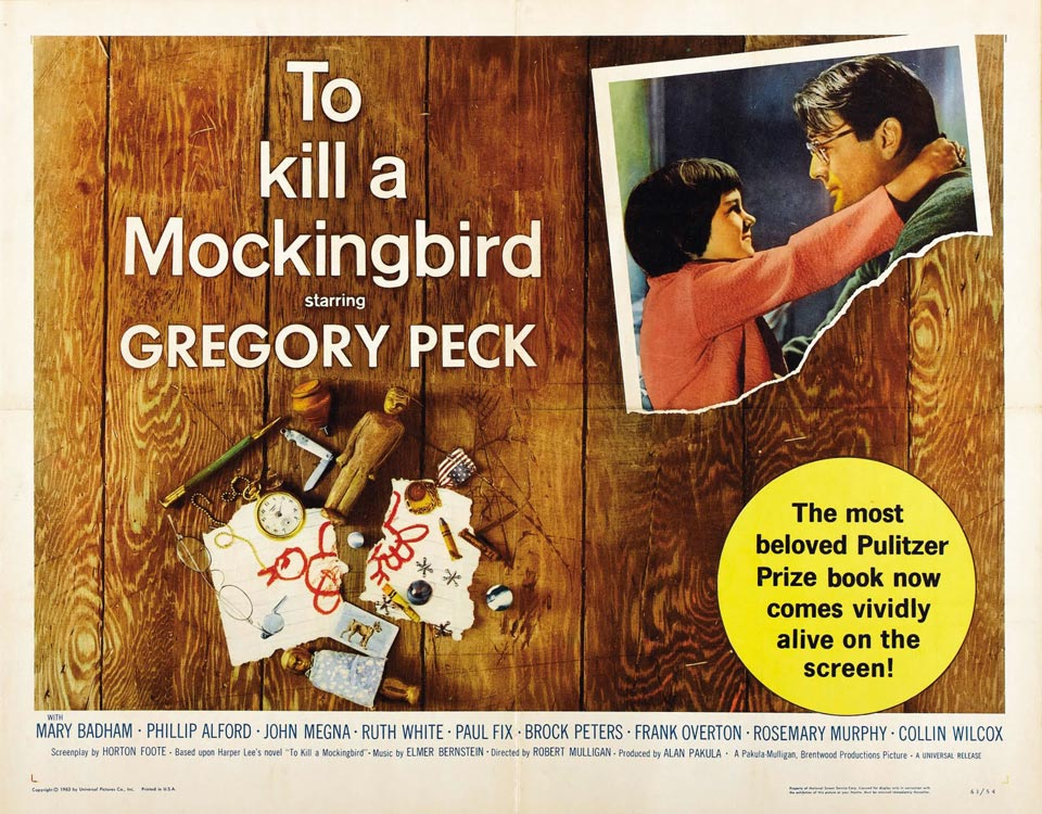 Artist Unknown - To Kill a Mockingbird (film poster) (1)