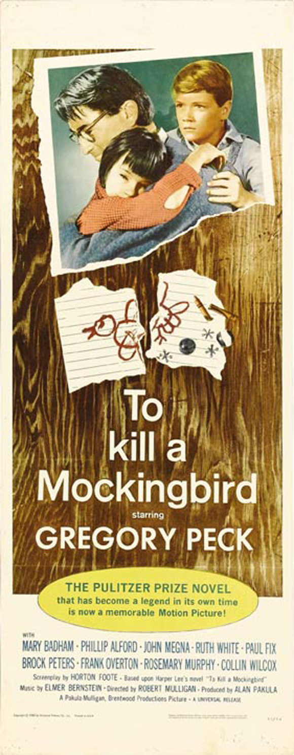 Artist Unknown - To Kill a Mockingbird (film poster) (2)