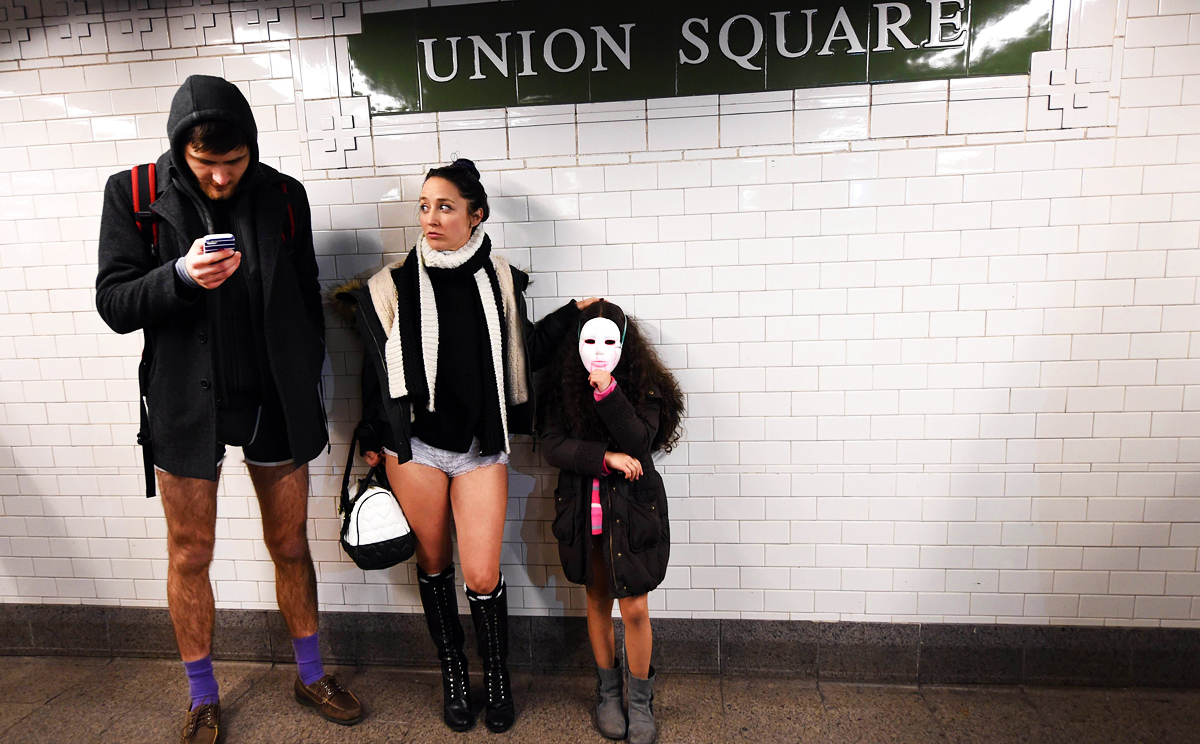 Timothy A. Clary - No Pants Subway Ride (2015)