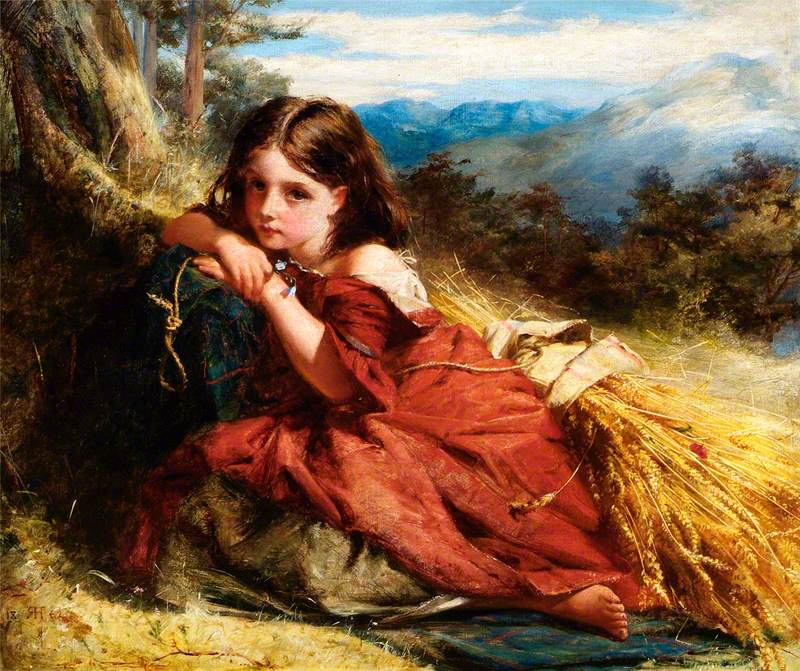 Robert Herdman - The Arrochar Gleaner (1862)