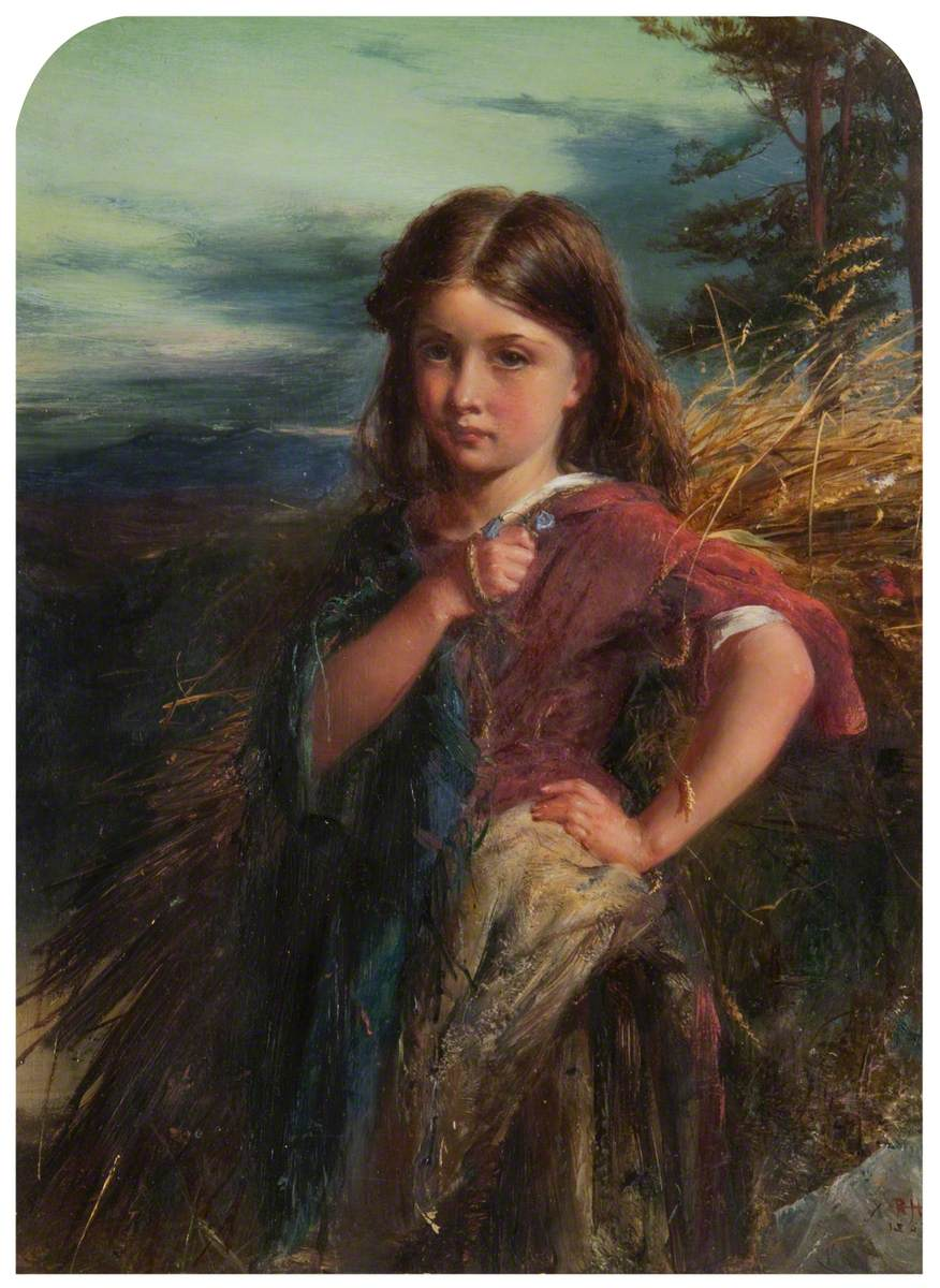 Robert Herdman - The Gleaner (1863)