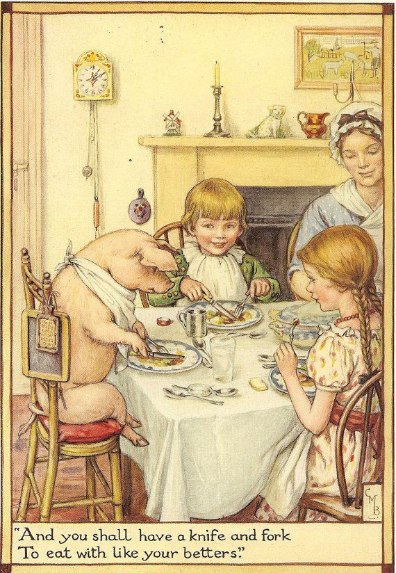 Cicely Mary Barker - Old Rhymes For All Times (1928)