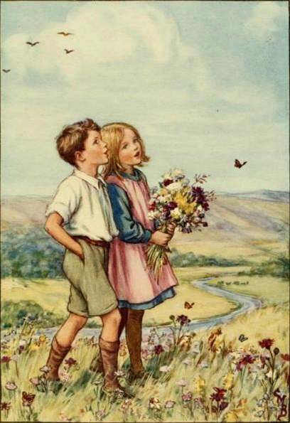 Cicely Mary Barker - The Children's Book of Hymns (1929)