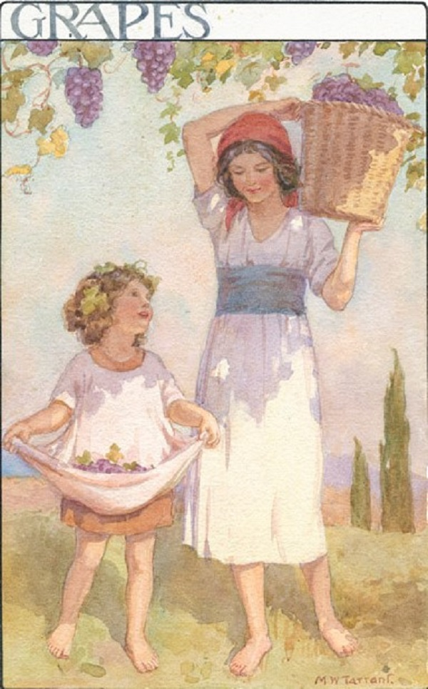 Margaret Tarrant - Grapes (1920s)