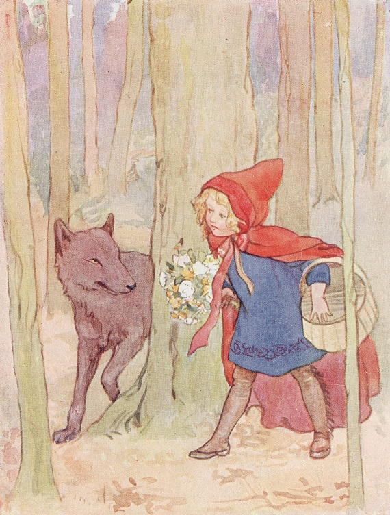 Margaret Tarrant - Good Morning Little Red Riding Hood (1951)