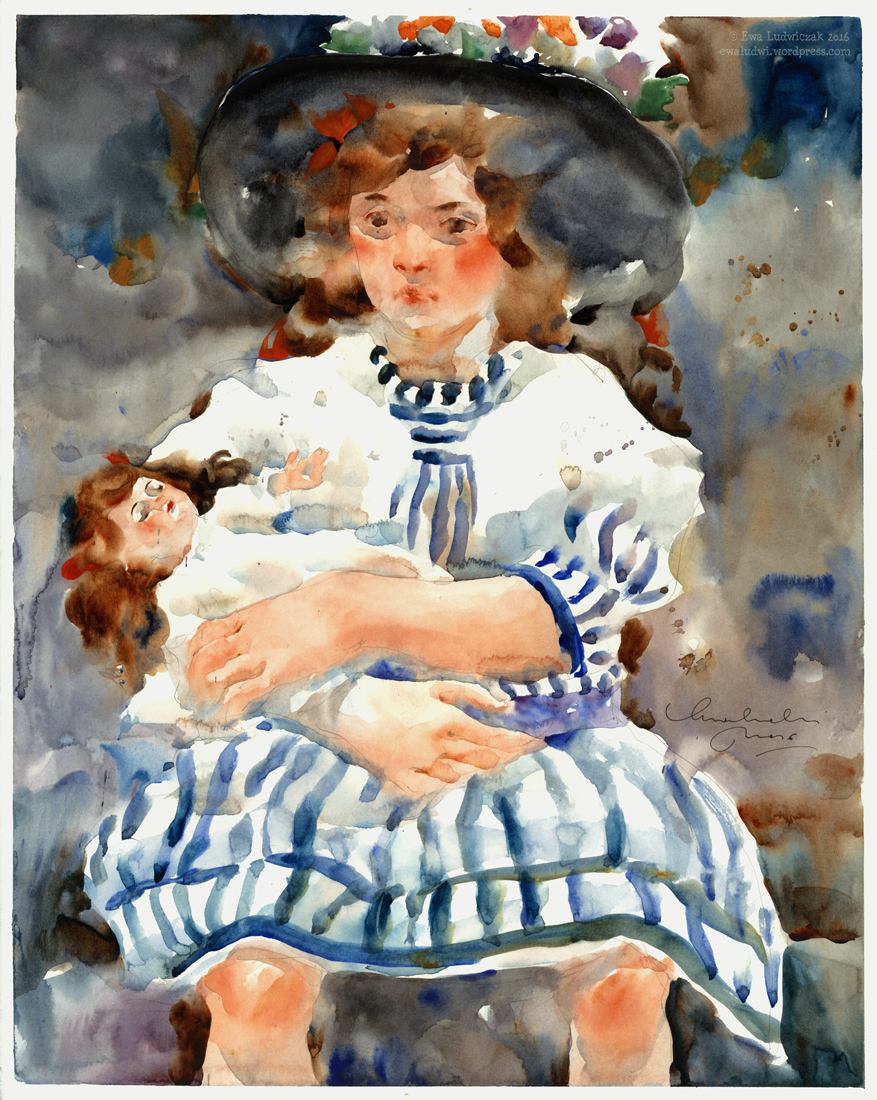 Ewa Ludwiczak - Girl with a Doll