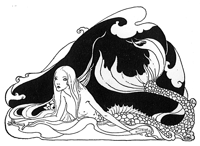 Dorothy P. Lathrop - Mermaid - Silverhorn
