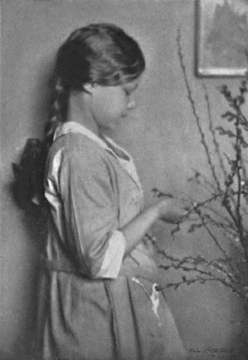Eric Stahlberg - Hilda Conkling (1920)