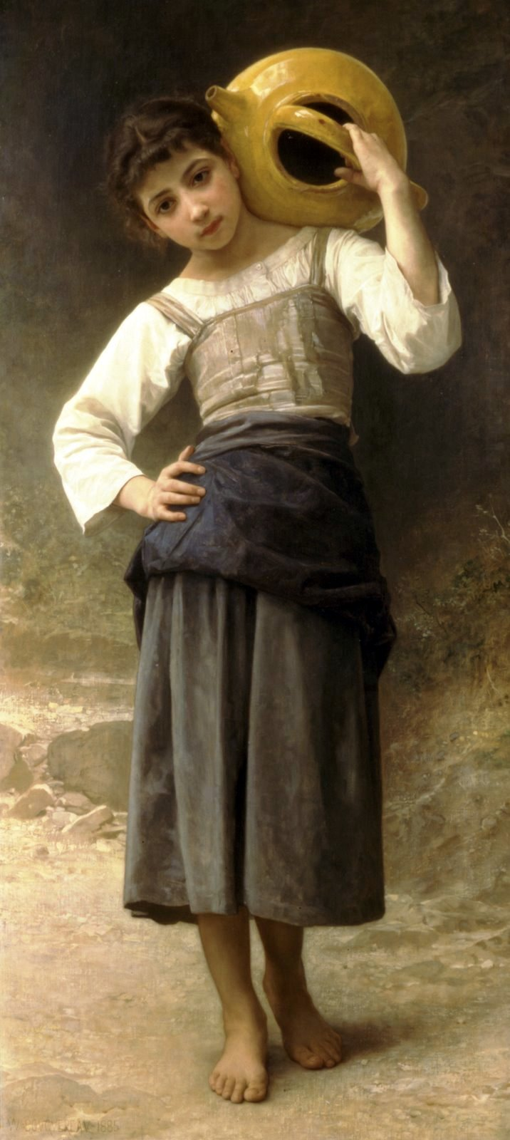 William-Adolphe Bouguereau - Jeune fille allant à la fontaine
