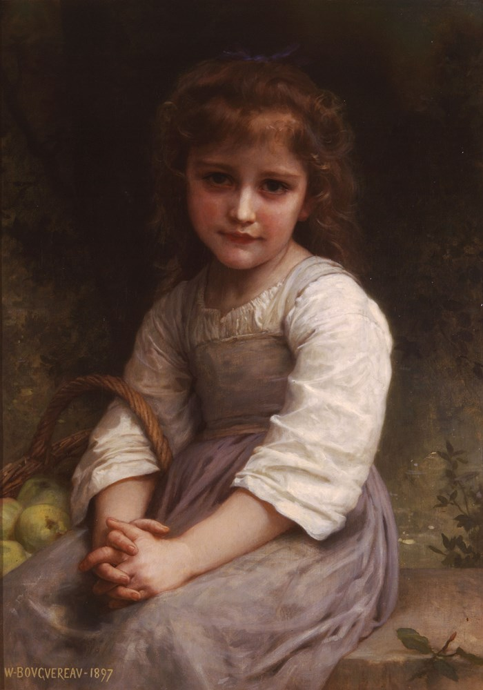 William-Adolphe Bouguereau - Les pommes